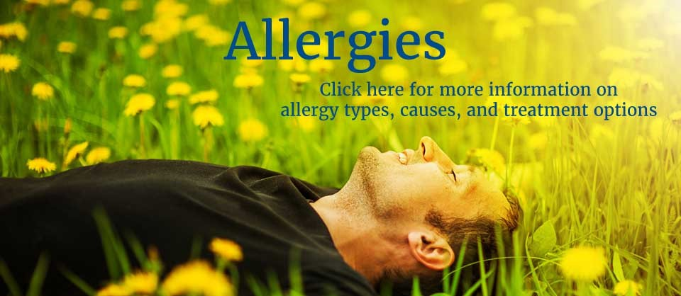 Learn about allergy types, causes, and treatment