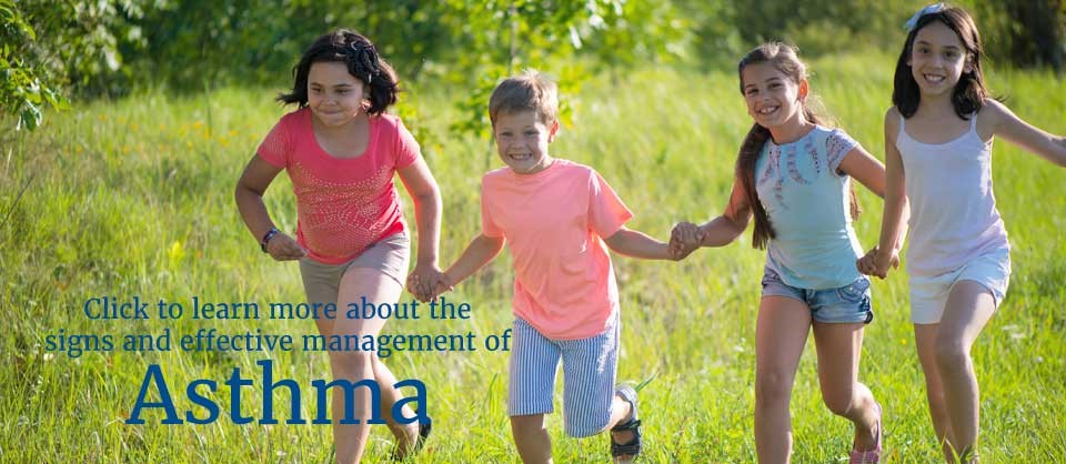 Learn more about the signs and management of asthma